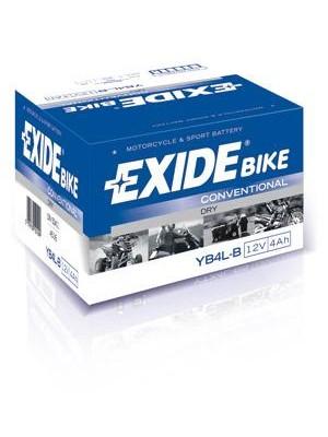 Bike battery Exide GEL YB4L-B