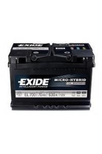 Starting car battery Tudor EL600 Start & Stop
